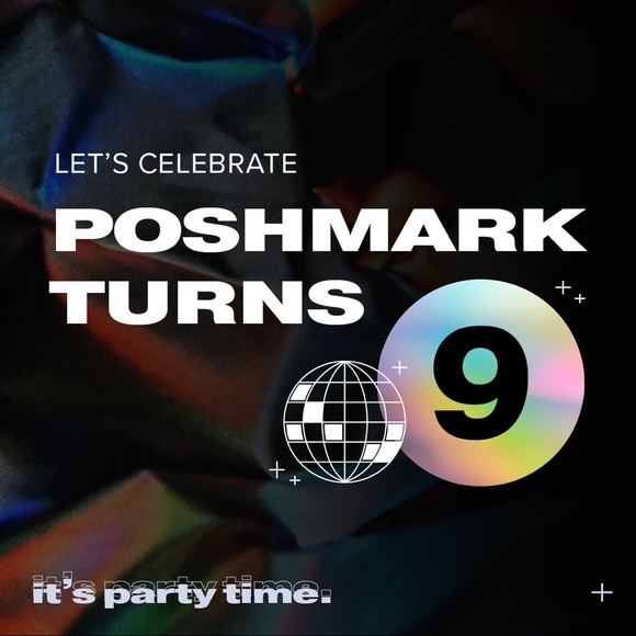 Poshmark's 9th Birthday!!!!🎊🎉🎂 DEC. 5th @5pm